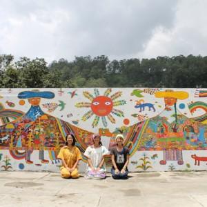 今回のコラボアーティストと、ヘキカキカク