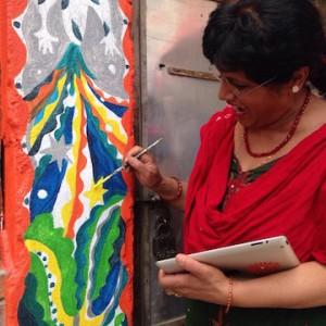 ネパールの母、ミラさん。ありがとう!